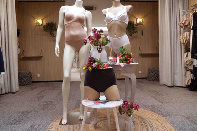 Sint niklaas interieur-lingerie-femina-bodies