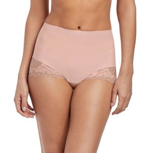 Wacoal Lace Perfection Corrigerende slip Roze