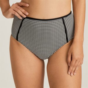 Prima Donna Swim Atlas Bikini slip – tailleslip Zwart