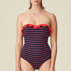 Marie Jo Swim Celine Badpak – strapless – voorgevormd Blauw